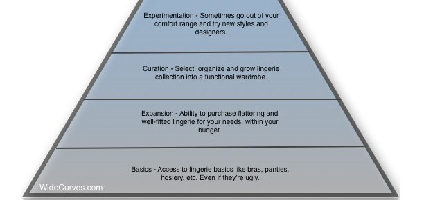 The Lingerie Hierarchy I WideCurves.com